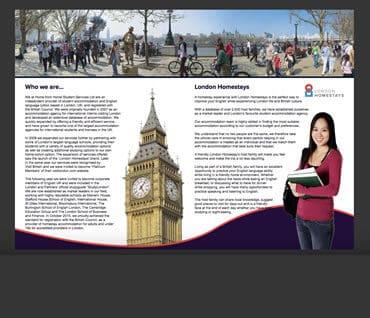 Brochure des services