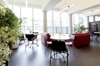 Westferry Residence Accommodation - Social Area