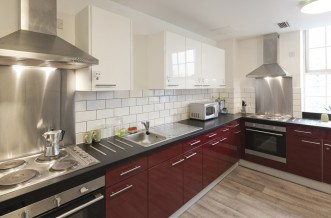 Angel Residence Accommodation - Kitchen