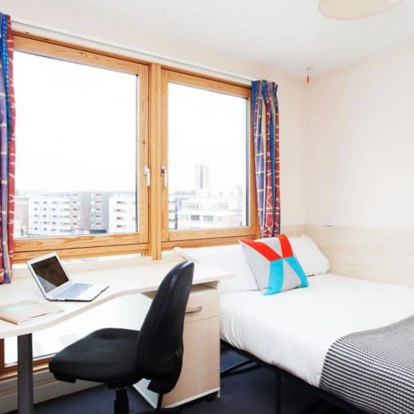 King's Cross Residence Accommodation - Studio Bedroom