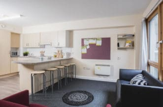 King's Cross Residence Accommodation - Kitchen Area