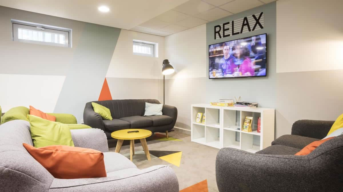 King's Cross Residence Accommodation - Common Room