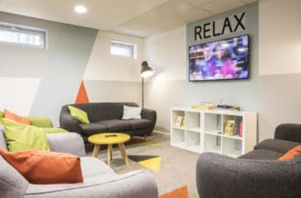 St Pancras Residence Accommodation - Common Room