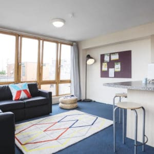 King's Cross Residence Accommodation - Living Room