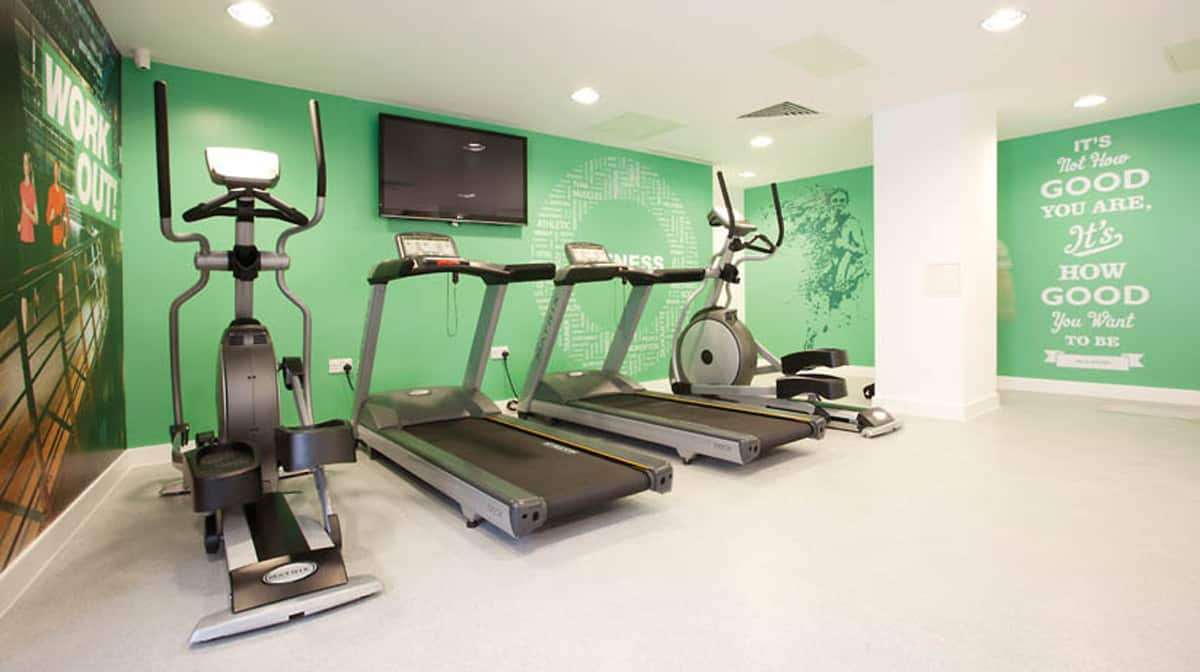 Aldgate Residence Accommodation - Gym