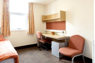Westferry Residence Accommodation - Study Area