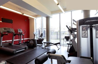 Westferry Residence Accommodation - Gym