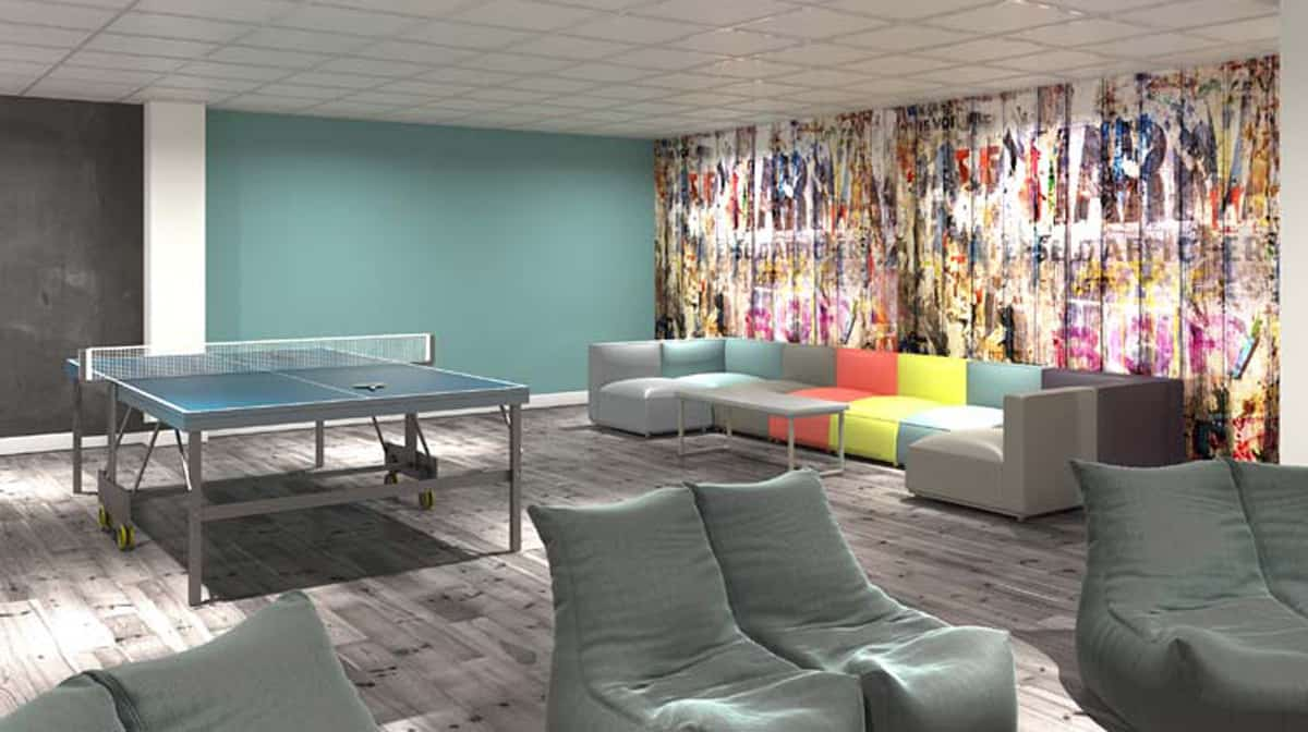 Aldgate Residence Accommodation - Social Area