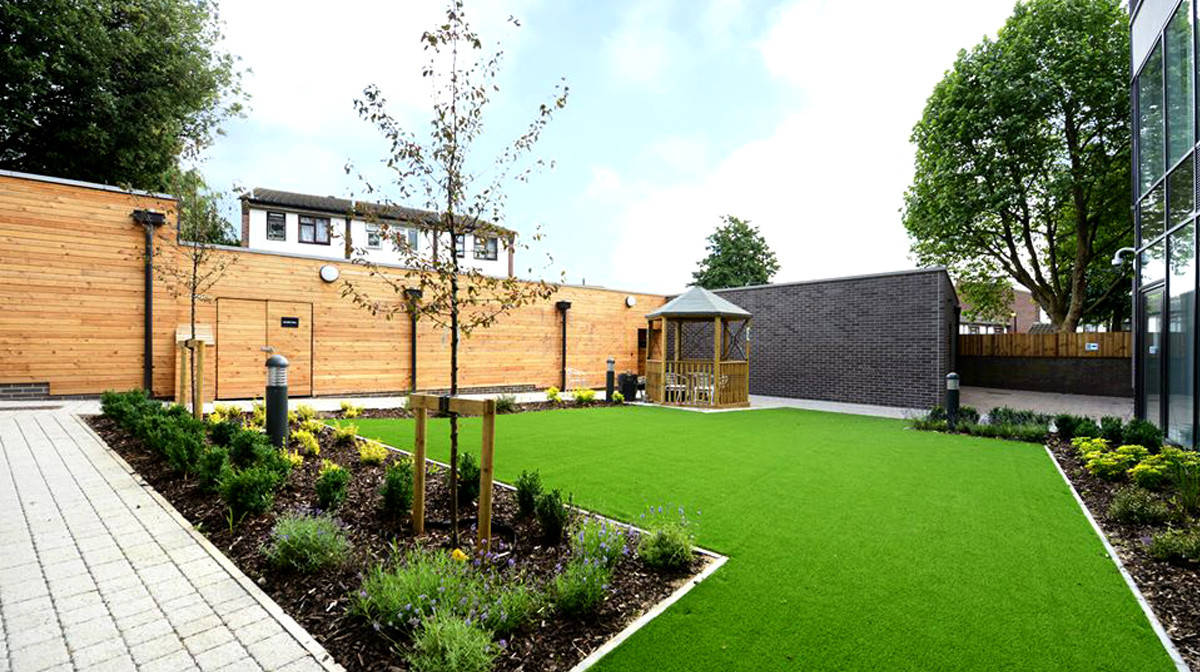 Mile End Residence Accommodation - Outdoor Area