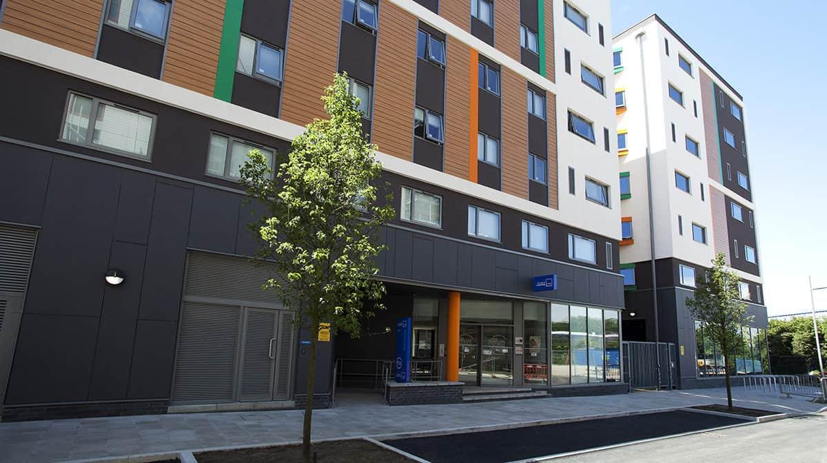 Tottenham Residence Accommodation - External