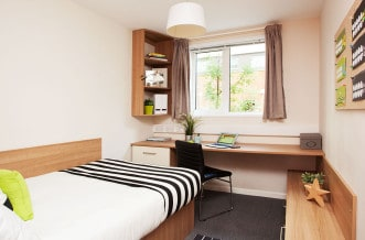 Tottenham residence bedroom