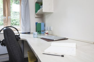 Seven Sisters Residence Accommodation - Study Area