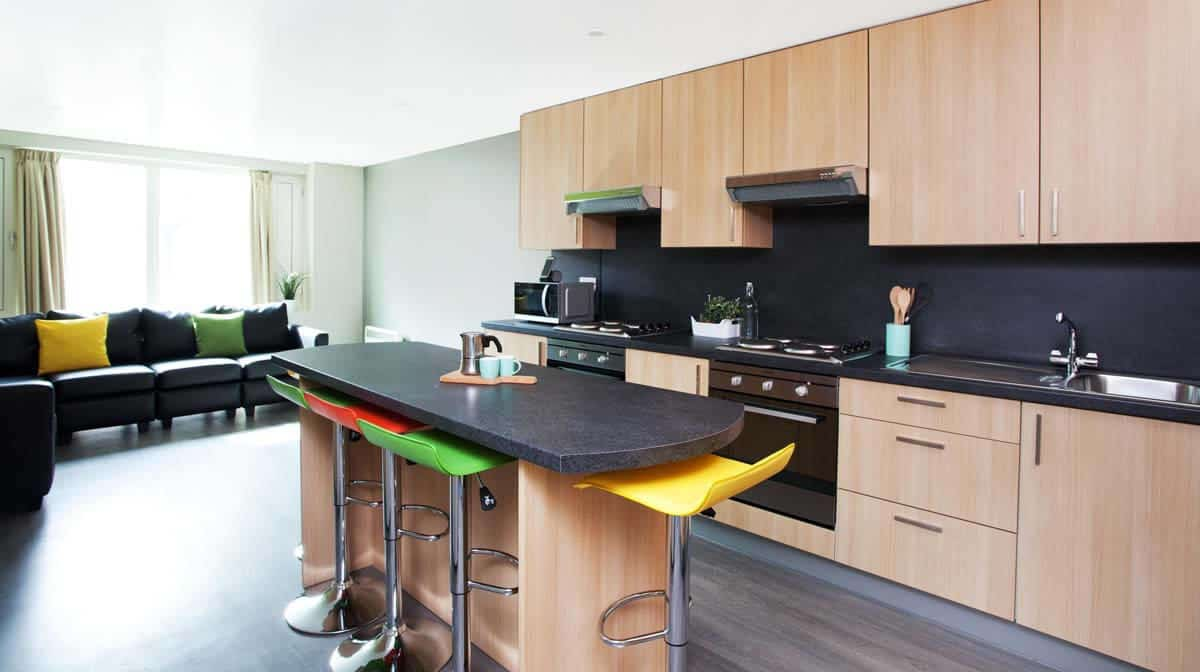 Holloway Road Residence Accommodation - Kitchen