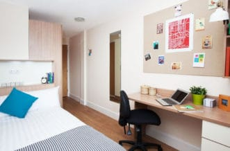 Glasgow Residence Accommodation - Study Area