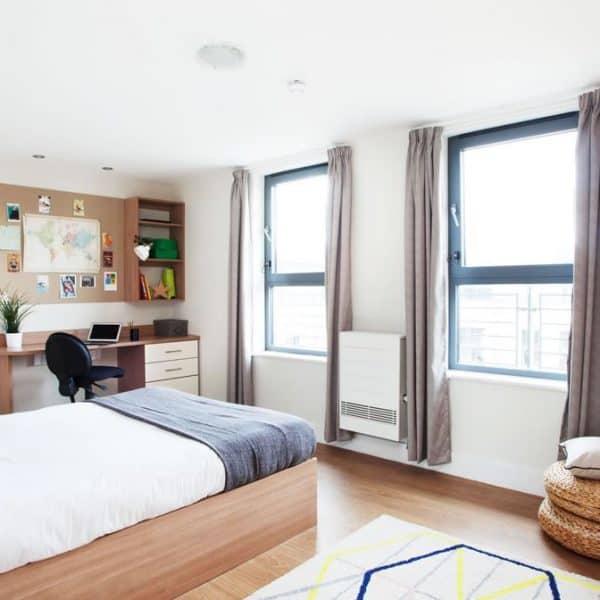 Glasgow Residence Accommodation - Bedroom