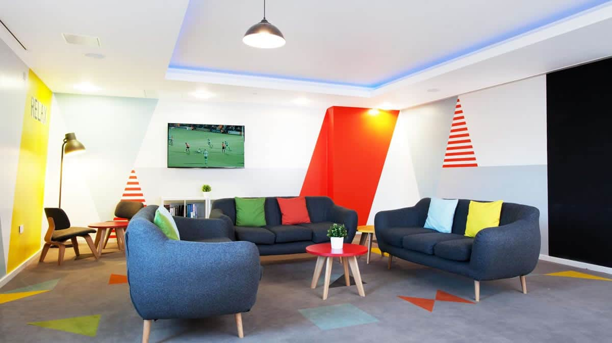 Leeds Residence Accommodation - Social Area