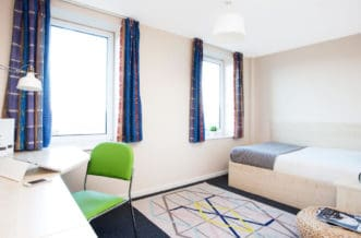 Leeds Residence Accommodation - Bedroom