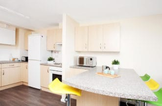 Leeds Residence Accommodation - Kitchen