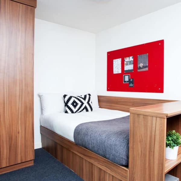 Islington Residence Accommodation - Bedroom