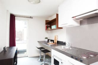 Islington Residence Accommodation - Kitchen