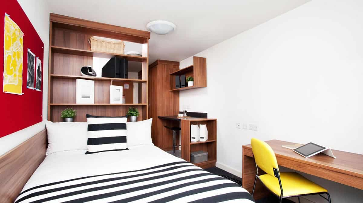 Islington Residence Accommodation - Classic Studio Bedroom