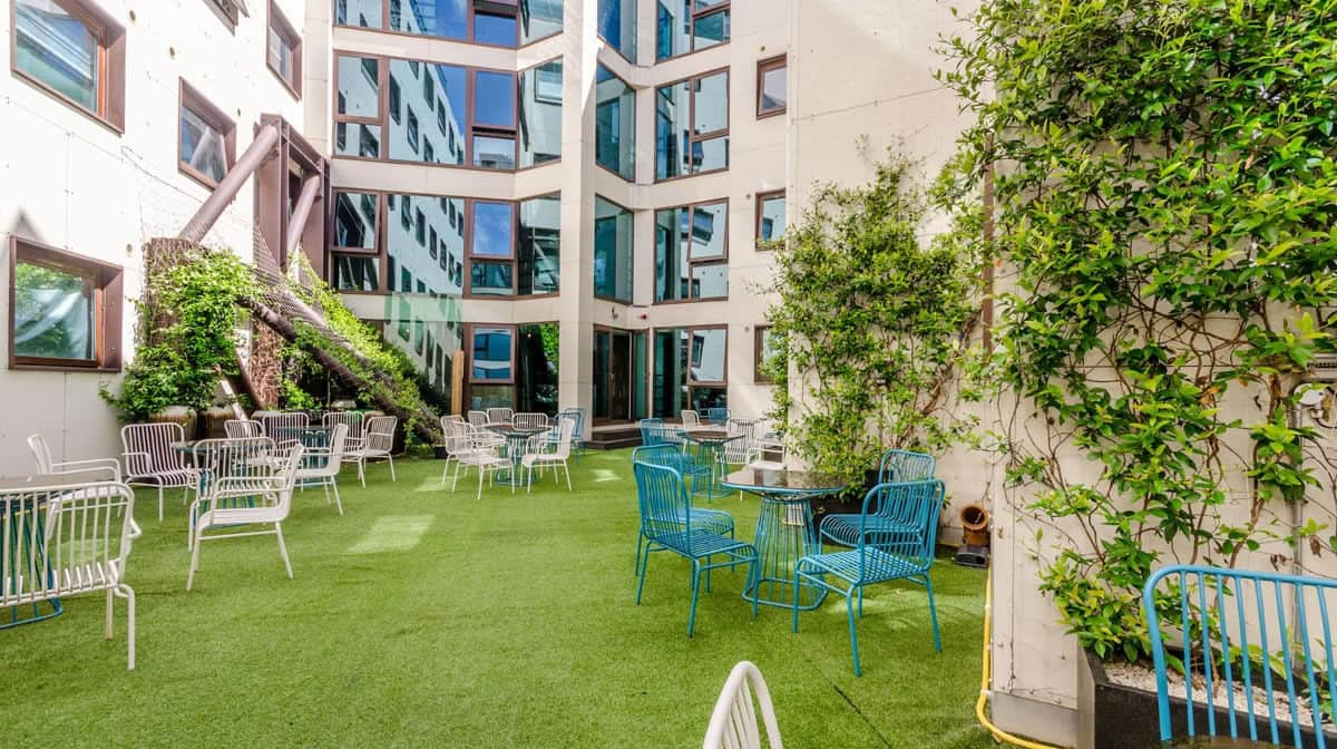 Camden Residence Accommodation - Courtyard