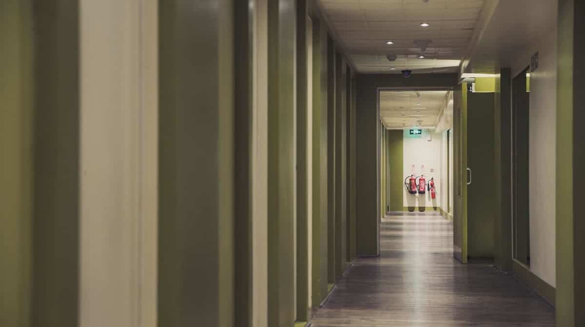 Willesden Residence Accommodation - Corridor