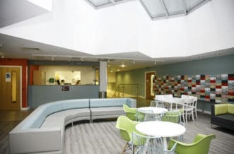 Aldgate Residence Accommodation - Reception