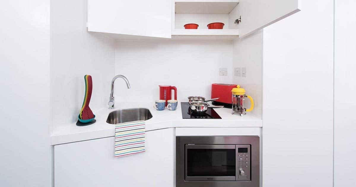 Mile End Residence Accommodation - Kitchen