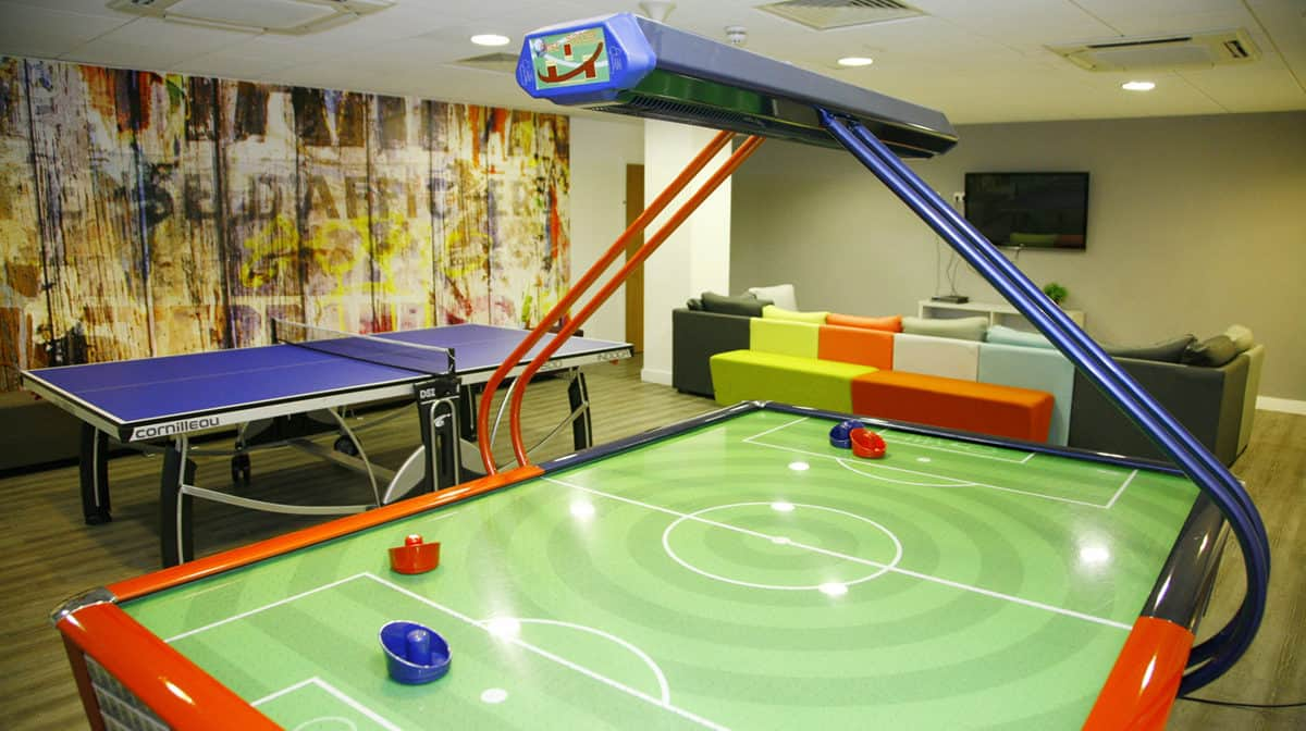 Aldgate Residence Accommodation - Games Room