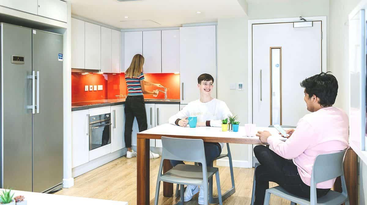 Tower Bridge Residence Accommodation - Kitchen