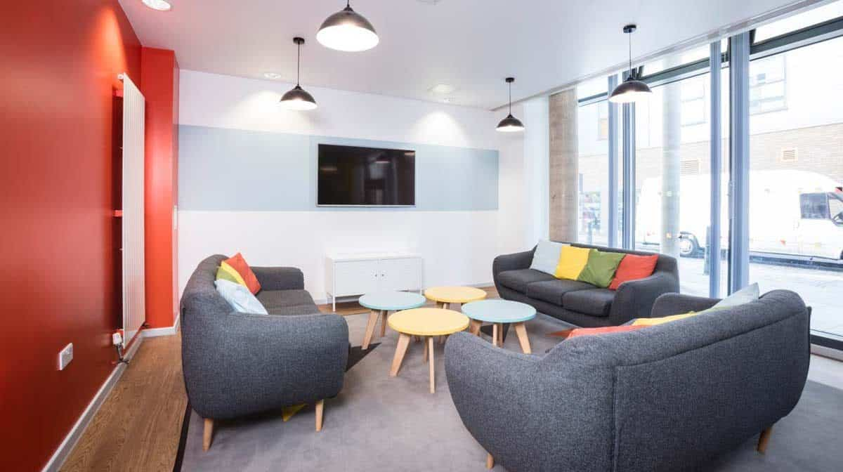 Blithehale Court Residence Accommodation - Common Room