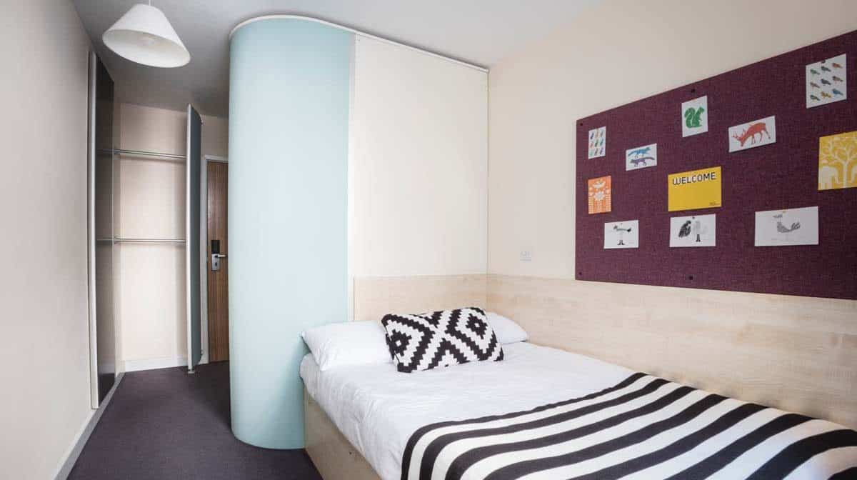 Bethnal Green Residence Accommodation - Bedroom