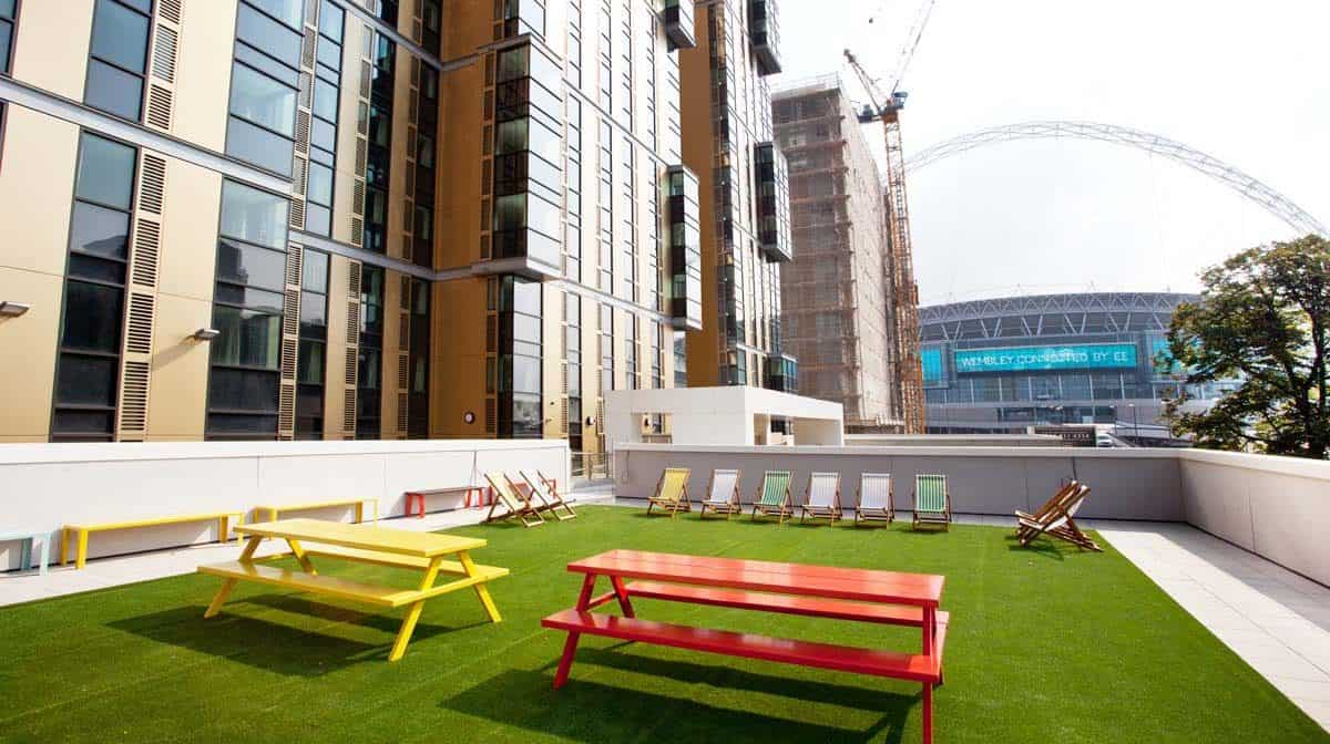 Wembley Residence Accommodation - Outdoor Area