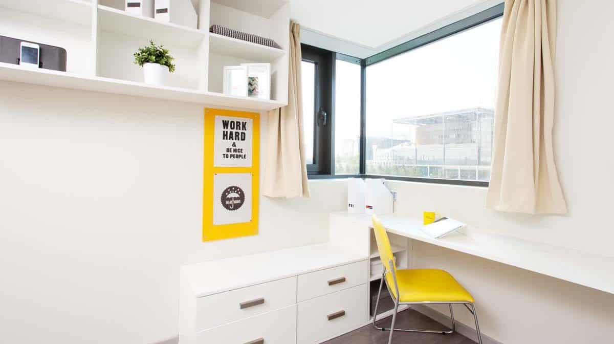 Wembley Residence Accommodation - Study Area