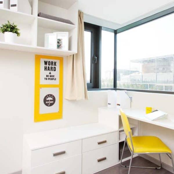 Wembley Residence Accommodation - Study Area