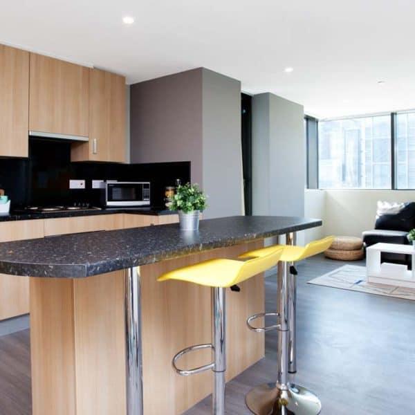 Wembley Residence Accommodation - Kitchen