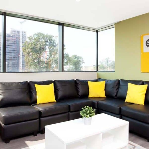 Wembley Residence Accommodation - Living Room