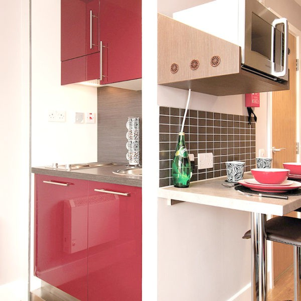 Camden Lock Residence Accommodation - Executive Studio Kitchen