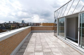 Camden Lock Residence Accommodation - Roof Top Area