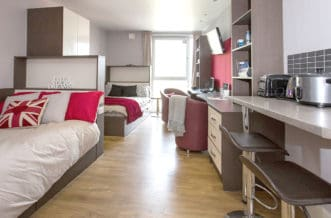 Camden Lock Residence Accommodation - Double Room