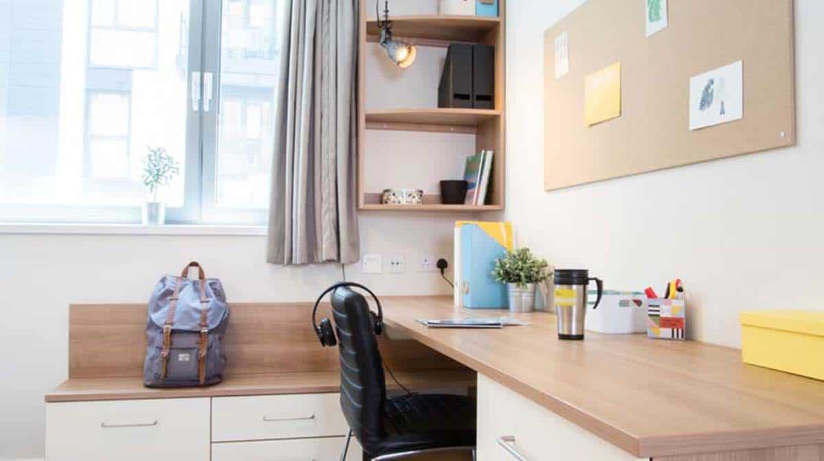 Tottenham Hale Residence - Study