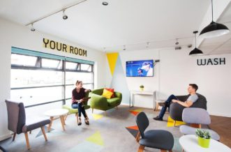 Glasgow Residence Accommodation - Social Area