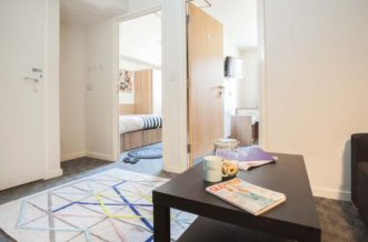 King's Cross Residence Accommodation - Living Area