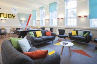 King's Cross Residence Accommodation - Social Area