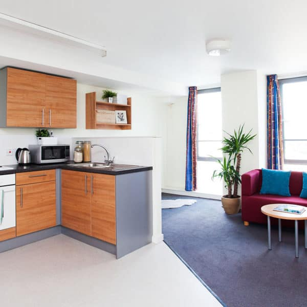 Manchester Parkway Gate Residence Accommodation - Kitchen