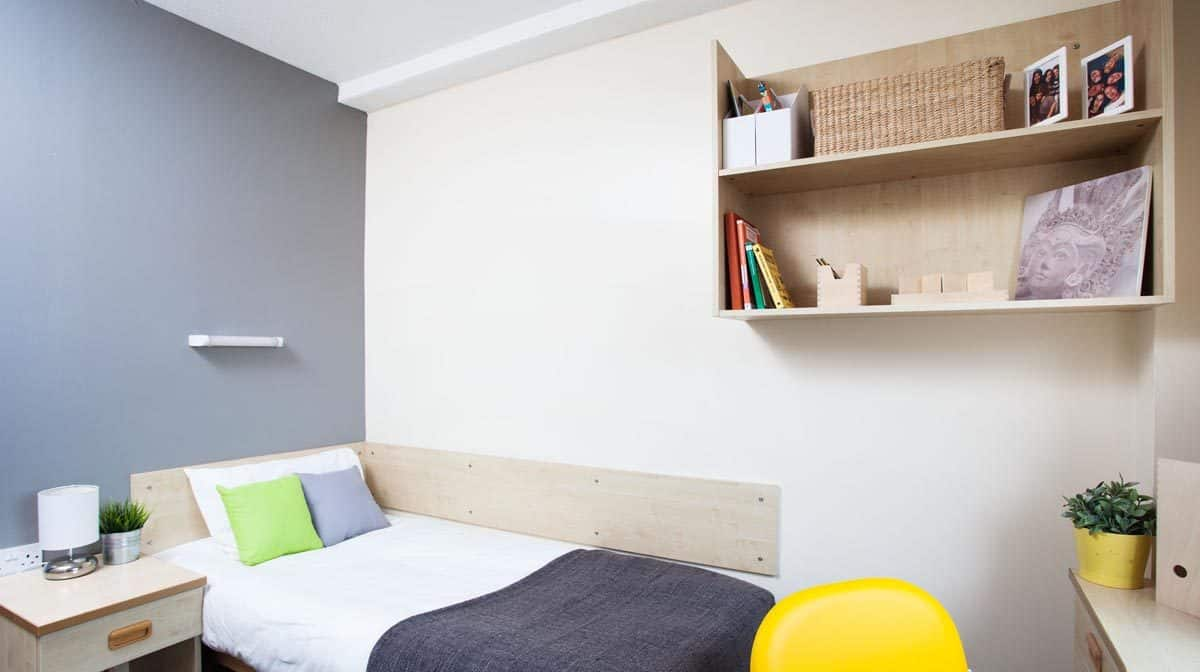 ManchesteManchester New Medlock House Residence Accommodation - Bedroomr New Medlock House Residence Accommodation