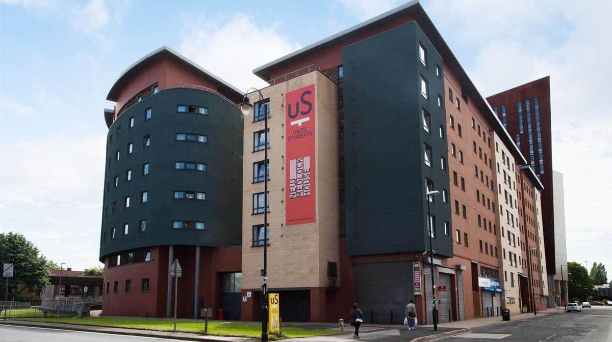 Manchester New Medlock House Residence Accommodation - External