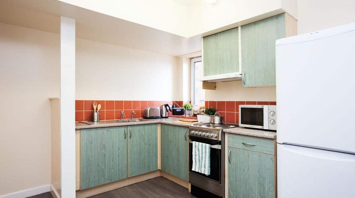 Manchester New Medlock House Residence Accommodation - Kitchen