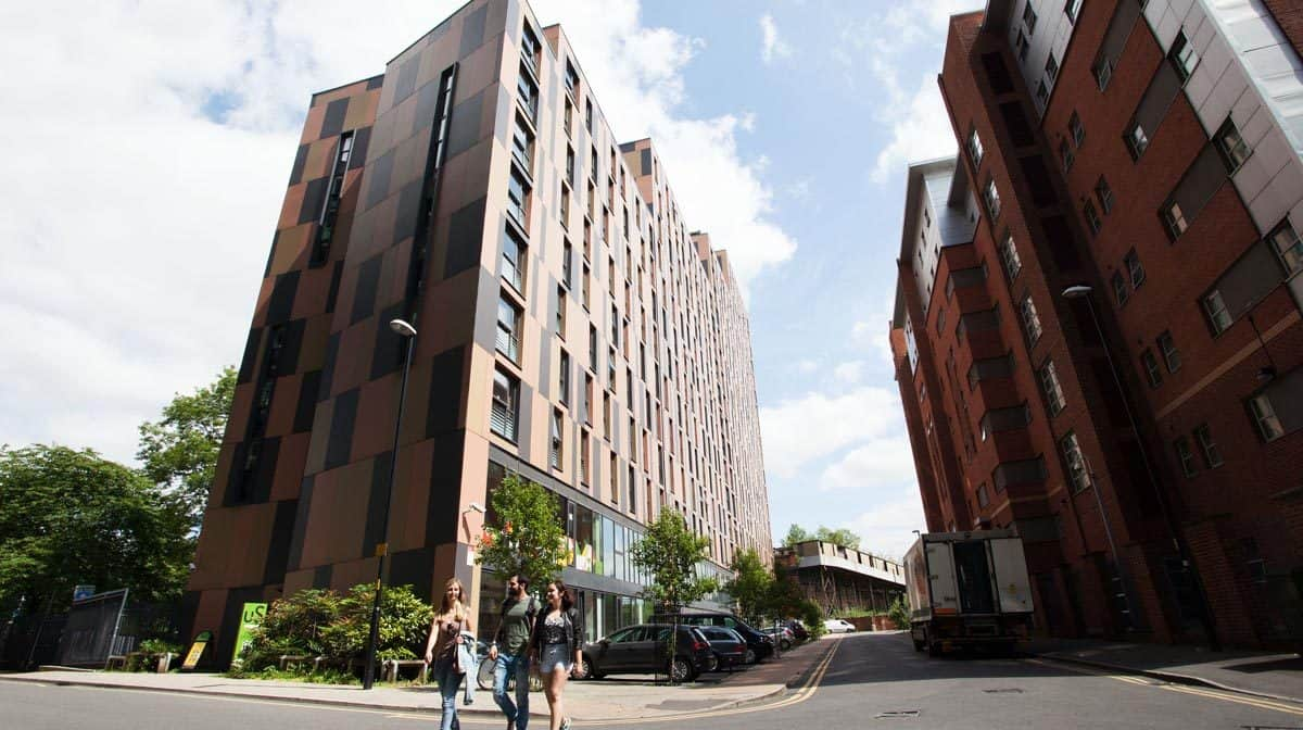Manchester Piccadilly Point Residence Accommodation - External